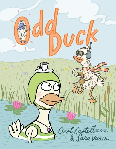 Odd Duck   2013 9781596435575 Front Cover