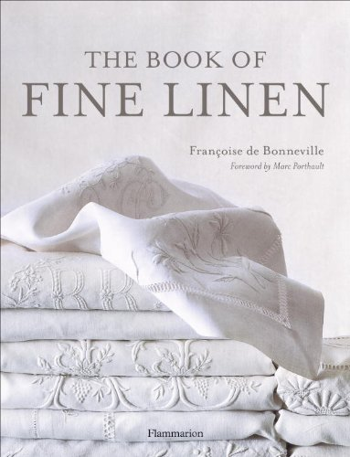 Book of Fine Linen   1994 9782080135575 Front Cover
