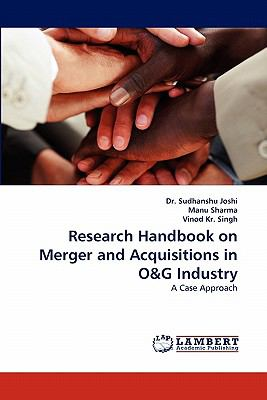 Research Handbook on Merger and Acquisitions in O and G Industry  N/A 9783838377575 Front Cover