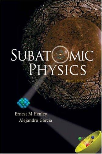 Subatomic Physics  3rd 2007 edition cover