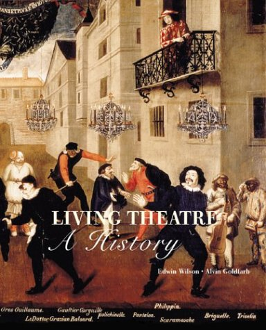 Living Theatre A History 4th 2004 (Revised) edition cover