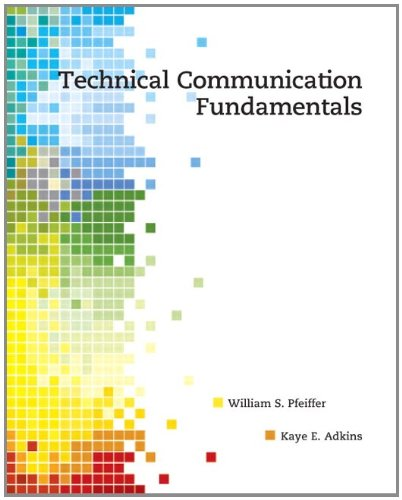 Technical Communication Fundamentals   2012 edition cover