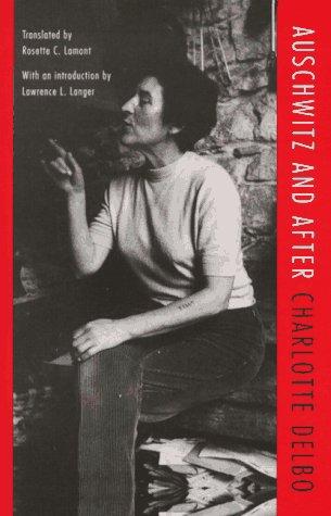 Auschwitz et Apres   1997 edition cover