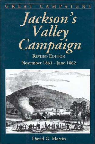 Jackson's Valley Campaign November 1861 - June 1862 N/A 9780306812576 Front Cover