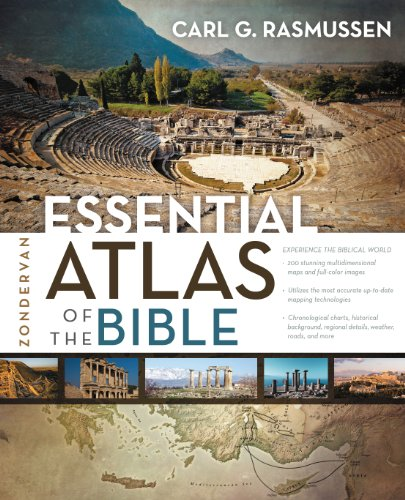 Zondervan Essential Atlas of the Bible   2014 edition cover
