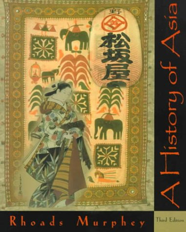 History of Asia  3rd 2000 edition cover