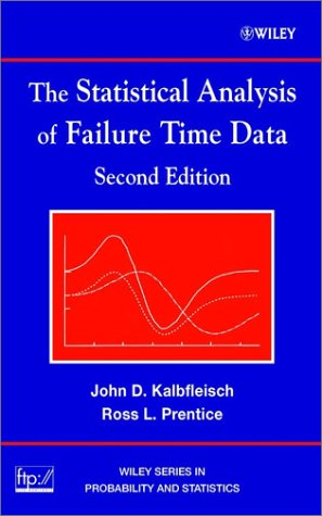 Statistical Analysis of Failure Time Data  2nd 2002 (Revised) edition cover