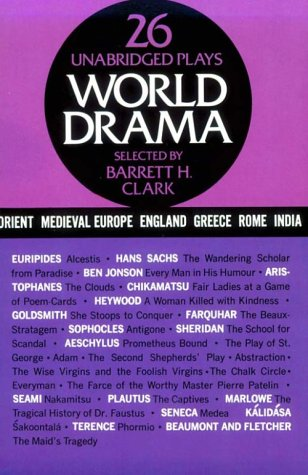 World Drama An Anthology N/A 9780486200576 Front Cover