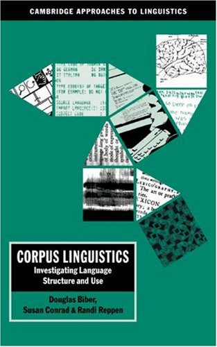 Corpus Linguistics Investigating Language Structure and Use  1998 edition cover
