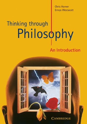Thinking Through Philosophy An Introduction  2000 edition cover