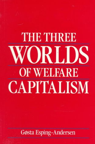 Three Worlds of Welfare Capitalism   1990 edition cover