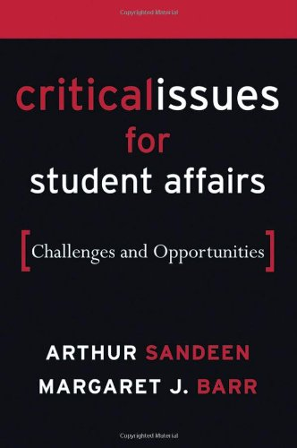 Critical Issues for Student Affairs Challenges and Opportunities  2006 edition cover