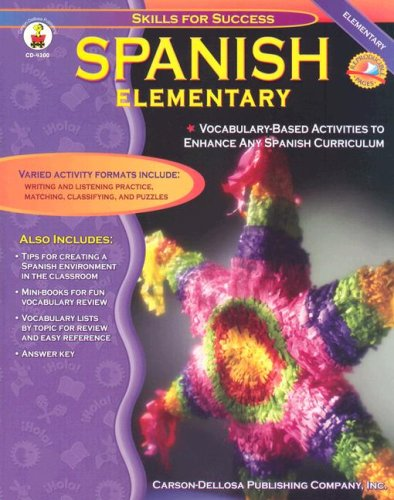 Spanish, Grades K - 5 Elementary  2002 edition cover