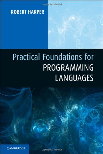Practical Foundations for Programming Languages   2012 edition cover