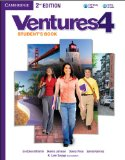VENTURES LEVEL 4 STUDENT'S BOOK WITH AUDIO CD 2ND EDITION  2nd 2013 edition cover