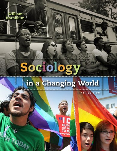Sociology in a Changing World  9th 2012 edition cover