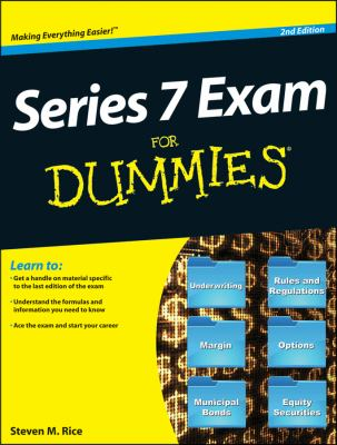 Series 7 Exam for Dummies  2nd 2013 9781118117576 Front Cover