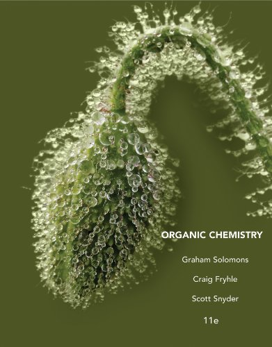 Organic Chemistry  11th 2014 9781118133576 Front Cover