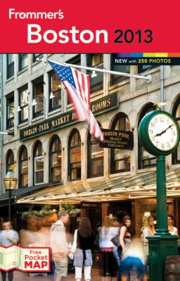 Frommer's Boston  8th 2012 9781118287576 Front Cover