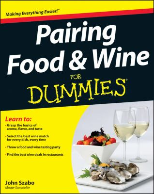 Pairing Food and Wine for Dummies   2012 edition cover