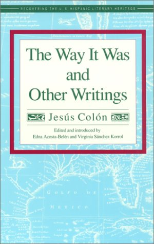Way It Was and Other Writings N/A edition cover