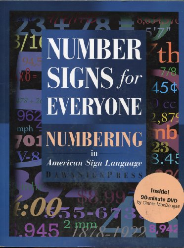 Number Signs for Everyone : Numbering in American Sign Language  2008 9781581210576 Front Cover