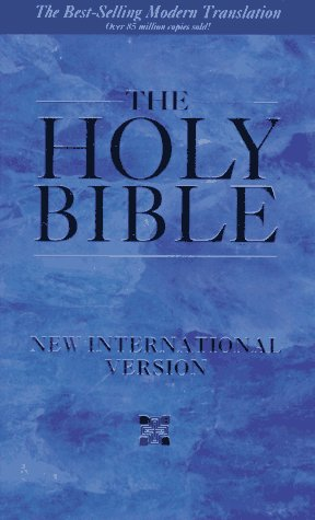 Holy Bible New International Version N/A edition cover