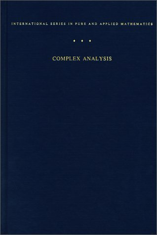Complex Analysis  3rd 1979 (Revised) edition cover