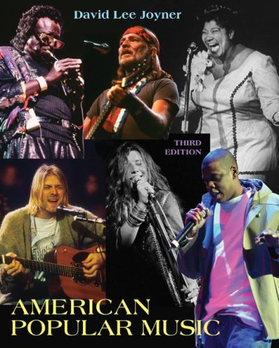 American Popular Music  3rd 2009 edition cover