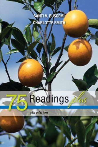 75 Readings Plus  9th 2010 9780077292577 Front Cover