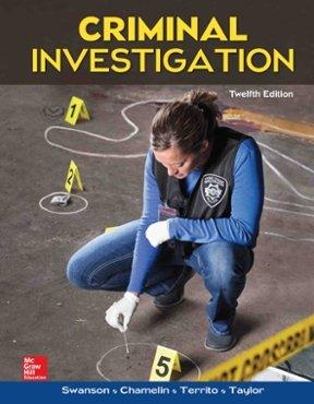 Criminal Investigation:   2018 edition cover