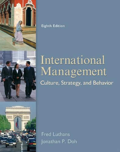 International Management Culture, Strategy, and Behavior 8th 2012 edition cover