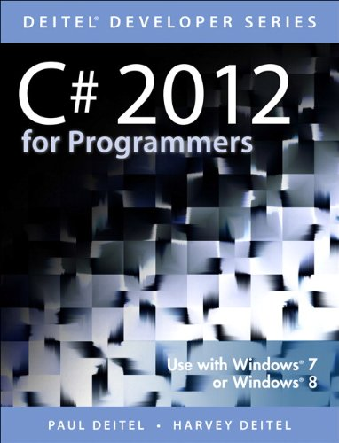 C# 2012 for Programmers  5th 2014 edition cover