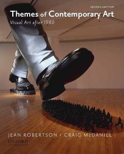 Themes of Contemporary Art Visual Art After 1980 2nd 2010 edition cover
