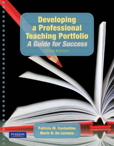 Developing a Professional Teaching Portfolio A Guide for Success 3rd 2009 edition cover