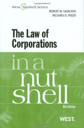 Law of Corporations  6th 2011 (Revised) edition cover