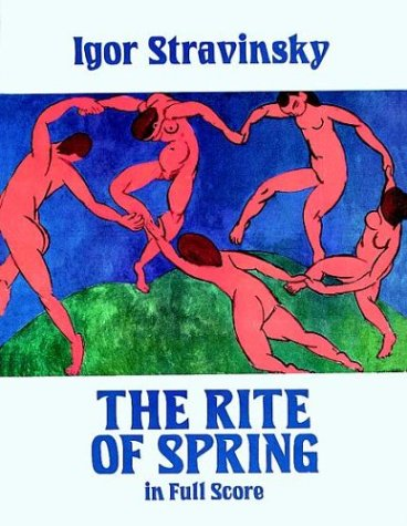 Rite of Spring in Full Score  N/A edition cover