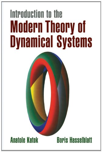 Introduction to the Modern Theory of Dynamical Systems   1996 edition cover
