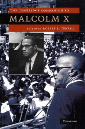 Cambridge Companion to Malcolm X   2010 edition cover