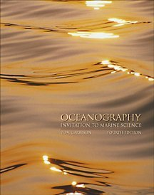 Oceanography An Invitation to Marine Science 4th 2002 9780534375577 Front Cover