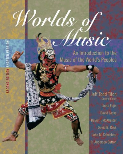 Worlds of Music Introduction to the Music of the World's People 2nd 2005 (Revised) 9780534627577 Front Cover