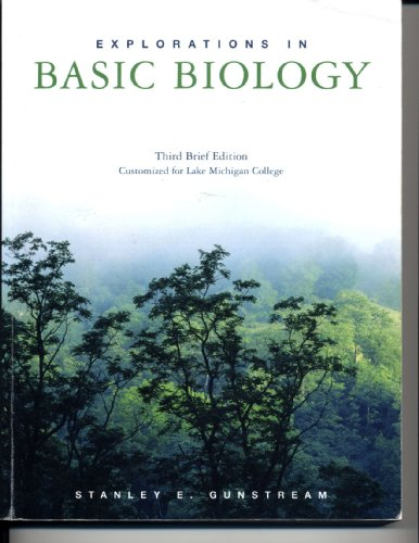EXPLORATIONS IN BASIC BIO.BRF. N/A 9780536454577 Front Cover