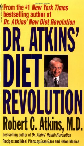 Dr. Atkins' Diet Revolution  N/A 9780553271577 Front Cover