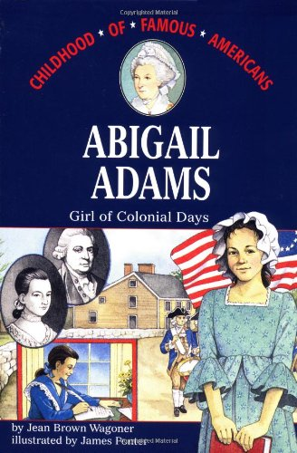 Abigail Adams Girl of Colonial Days  1992 edition cover