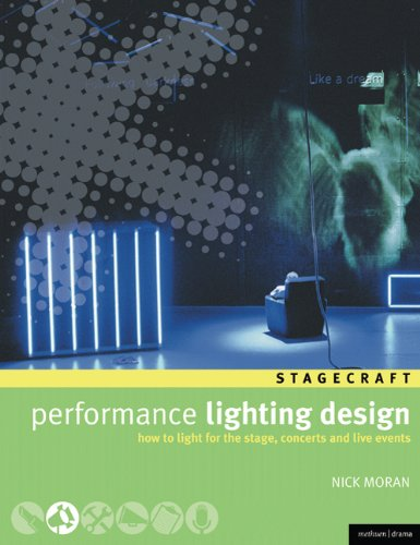 Performance Lighting Design How to Light for the Stage, Concerts, and Live Events  2007 edition cover