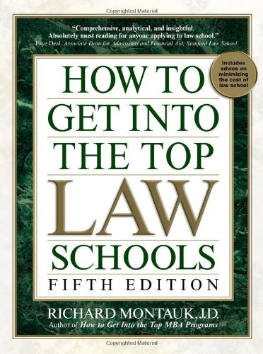 How to Get into the Top Law Schools  5th edition cover