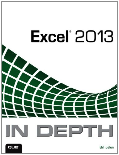 Excel 2013 in Depth   2013 edition cover
