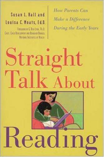 Straight Talk about Reading How Parents Can Make a Difference During the Early Years  1998 9780809228577 Front Cover