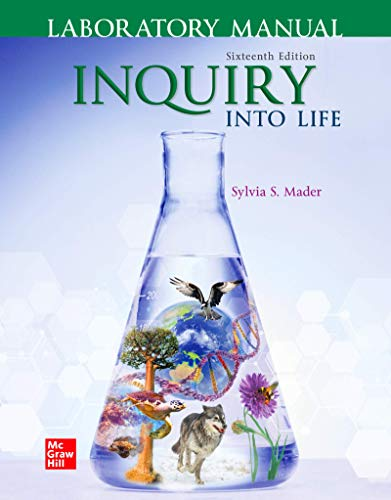 Lab Manual for Inquiry into Life  16th 2020 9781260482577 Front Cover