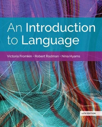 An Introduction to Language:   2018 9781337559577 Front Cover